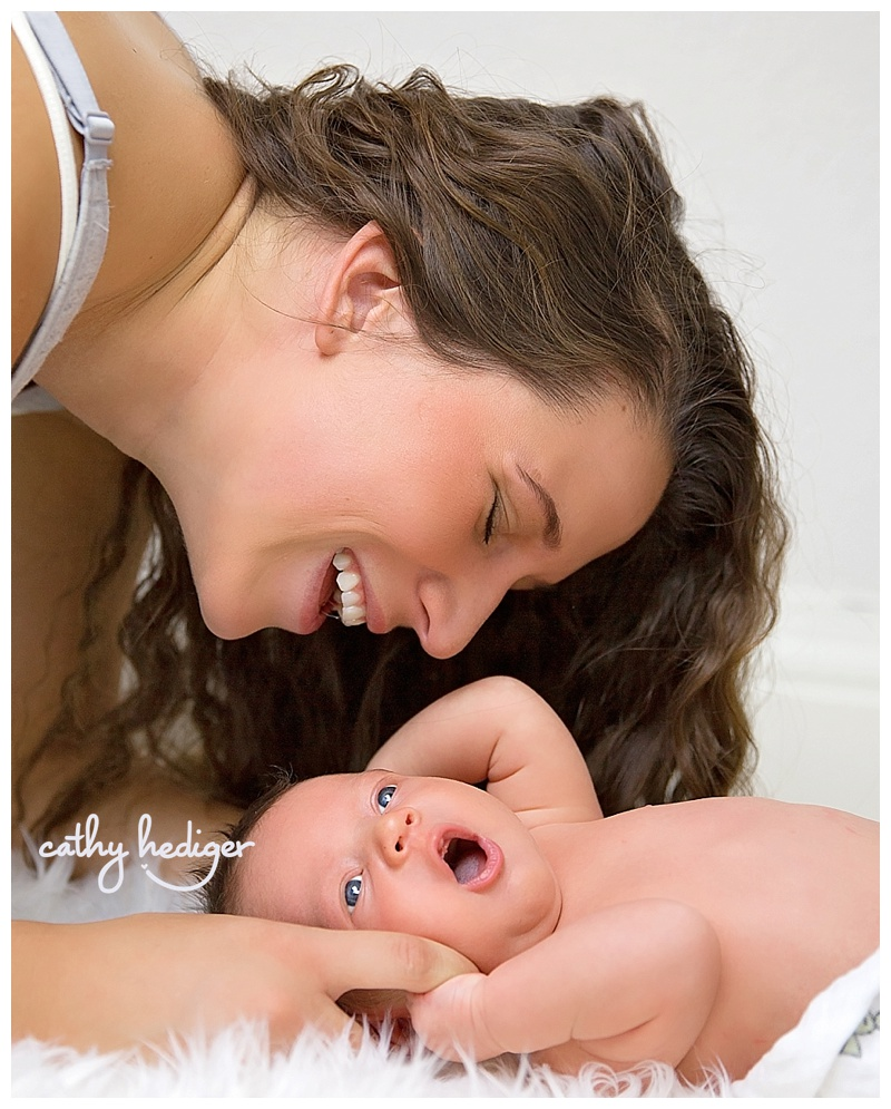 mom and baby photo